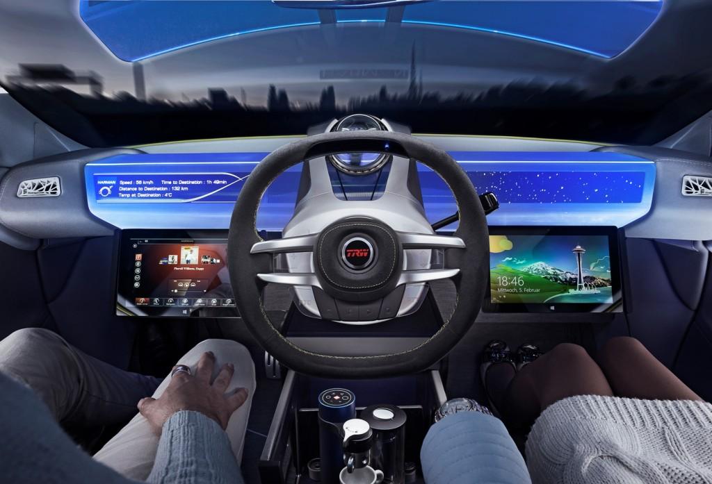 trw 9510-14 TRW Steering Wheel Concept_XchangE 2
