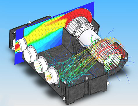 FloEFD – CAD-Embedded Concurrent CFD
