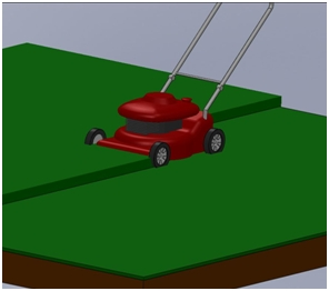 FloEFD Lawn mower Model
