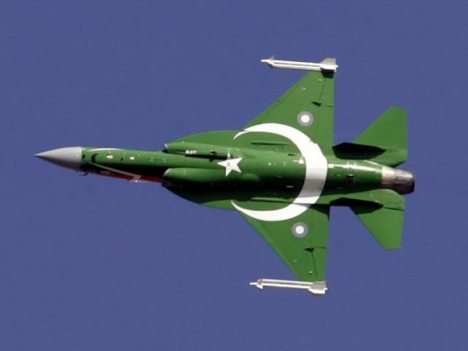 Pakistan/China Joint Developed JF-17 Thunder