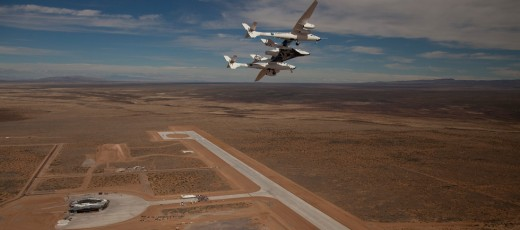 The first commercial SpacePort America in Upham, New Mexico