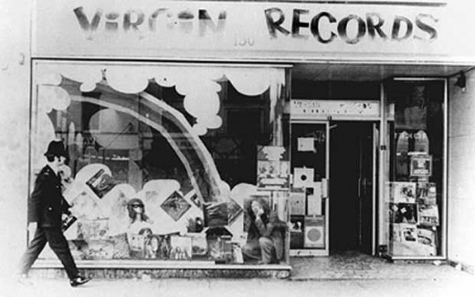Virgin Records in the good ol' days.