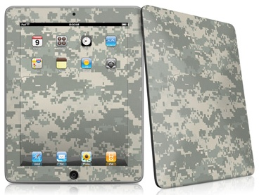 Digital camo forecast for the Apple iPad?