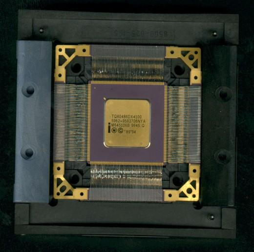 100MHz Intel 486 DX4 made for the military