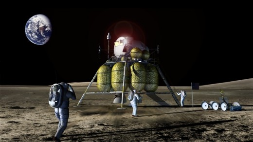 Artist rendering of the Constellation Main Lander
