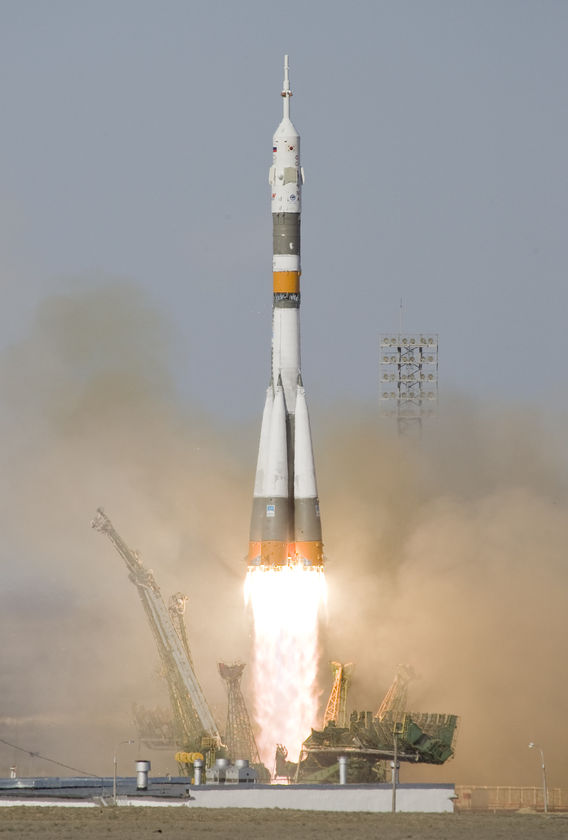 Russian Soyuz launch vehicle