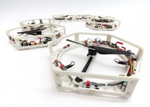 3D printed drones.