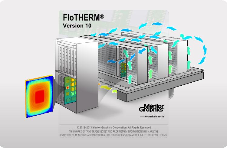 FloTHERM 10 splashscreen