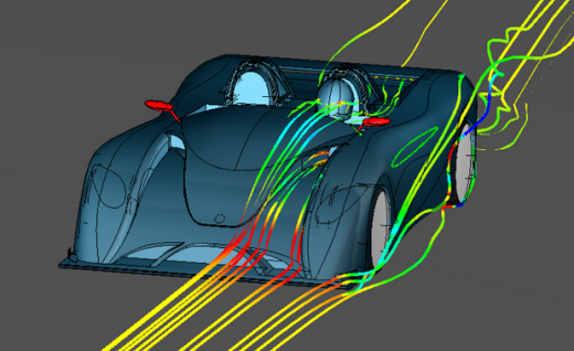 The CEEMO Engineering concept car in action. Image courtesy of Voxdale. 