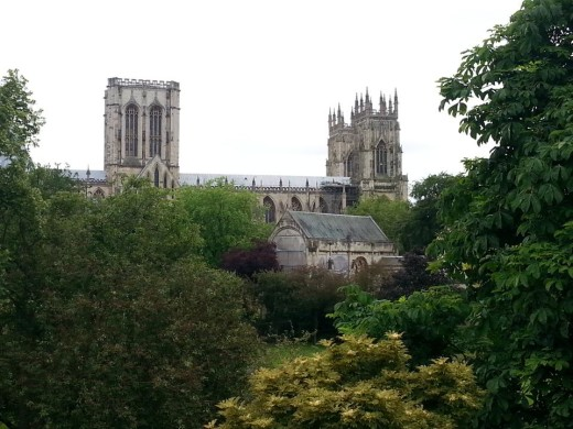 View of York Minster - the largest gothic cathedral in North Europe. All rights reserved, N Saye