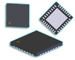 QFN Component Package Pictures