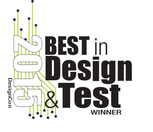 Xpedition Enterprise wins a 2015 DesignCon Best in Design & Test Award